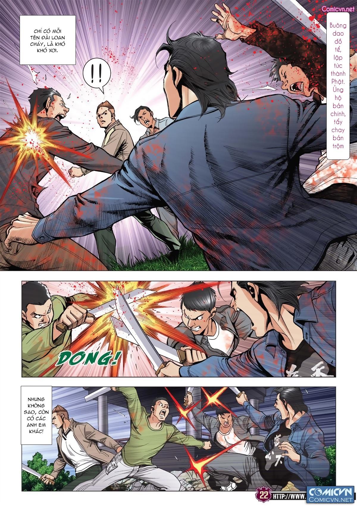 Người Trong Giang Hồ chapter 1985: bốc shit trang 19