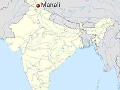 Manali, località indiana da cui proverrebbe l'afgano nero di Casa Vianello