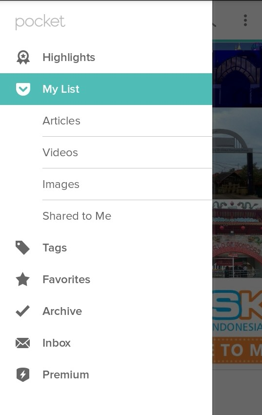 cara, membaca, artikel, offline, handphone, android