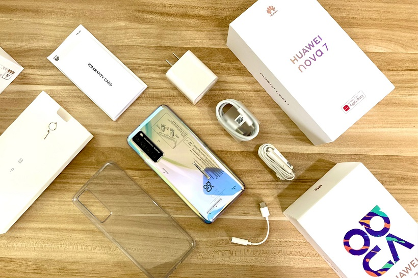 Huawei Nova 7 5G Unboxing Philippines