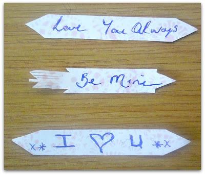 Message Chocolate Hearts www.withablast.net