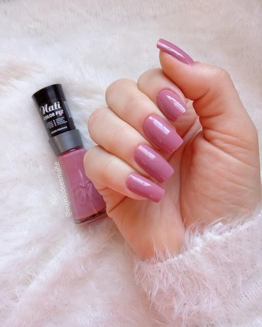 Esmalte Amor Perfeito Linha Color Fix - Nati Cosmetica