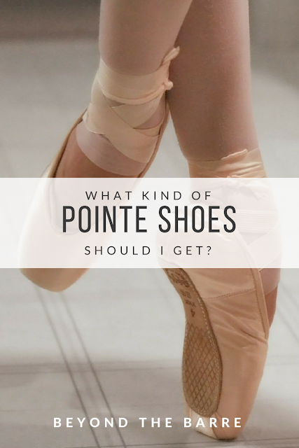 how to find the right pointe shoes