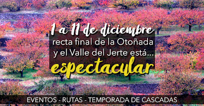 La OTOÑADA 2016 entra en su recta final con el Valle del Jerte deslumbrante