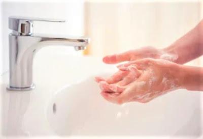 cuci tangan untuk mencegah penularan corona