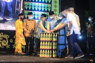 PJ. Bupati Labuhanbatu Membuka Secara Resmi MTQ Ke 50 Dan Festival Nasyid ke-35 Tahun 2021