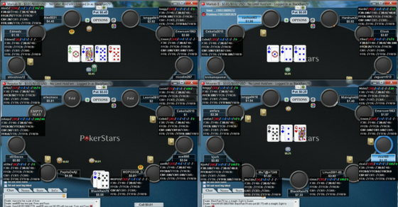Philosophical debate about using HUDs in online poker