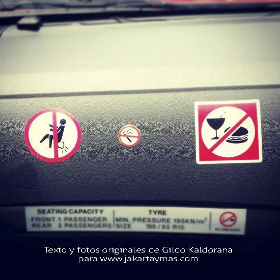 Prohibido echarse pedos, en Singapur