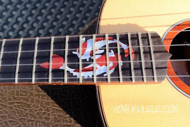 Maestro UT-MR Tenor Ukulele fish inlay