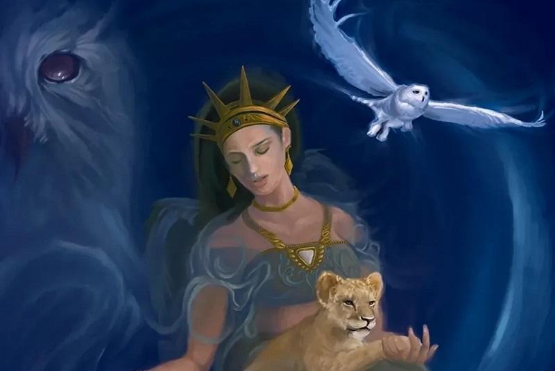 Anaíta - A Deusa Persa da Fertilidade e da Guerra