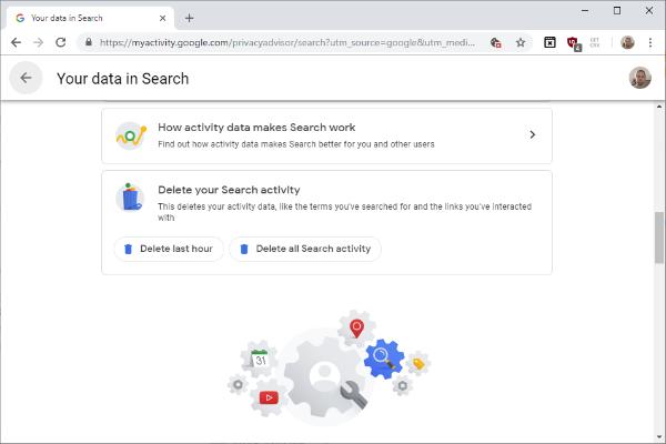 جوجل تسهل عملية حذف سجل التصفح
