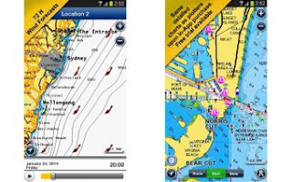 5. Navionics Boating Marine & Lakes (Android, iOS: Gratis)
