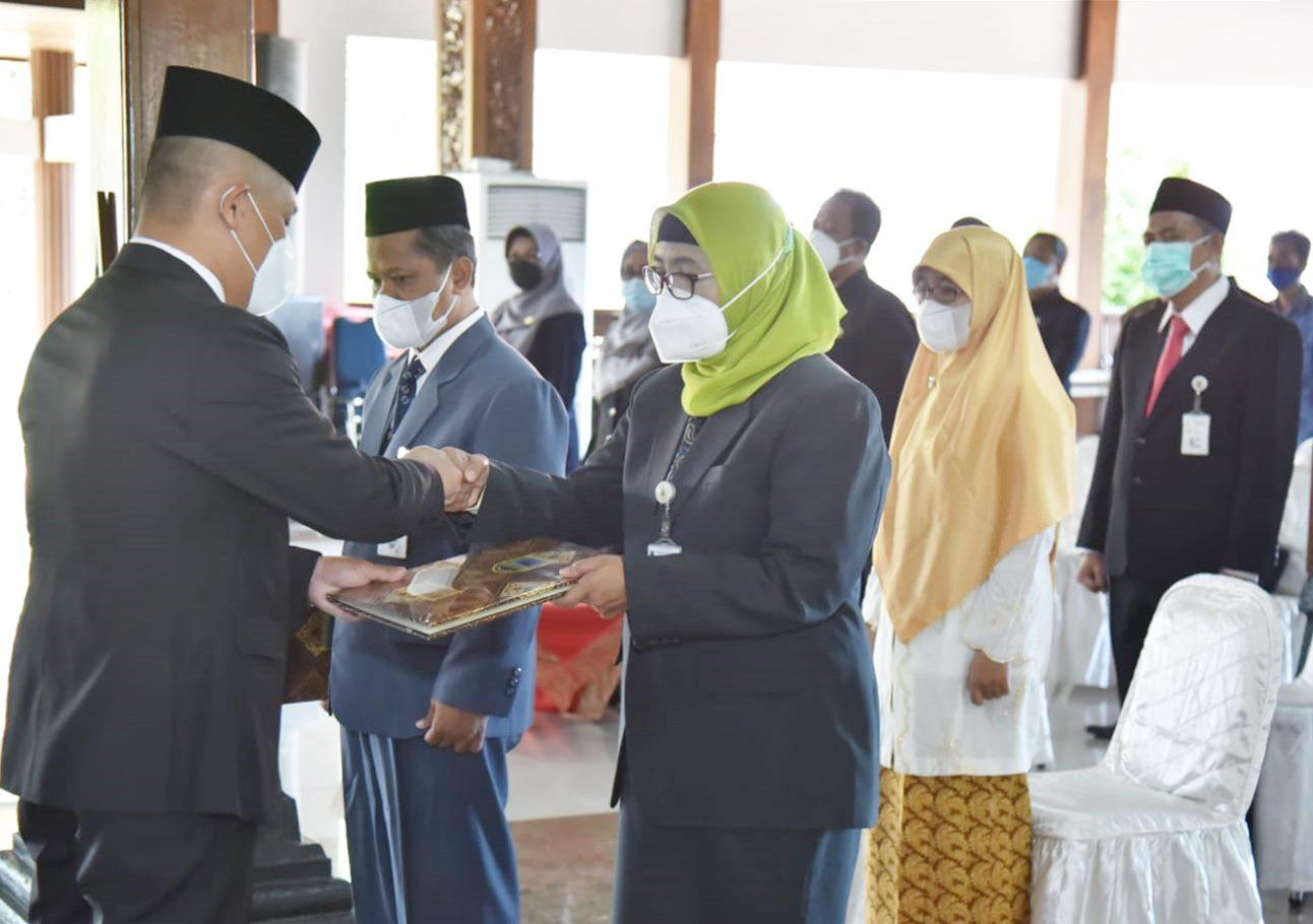 12 Pejabat Tinggi Pratama Pemkab Kebumen Dirotasi, Empat Diantaranya Promosi