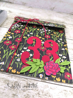 esignerpapier SAB Wiesenblumen; Produktpaket in meinem Herzen