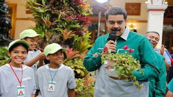 Presidente Nicolás Maduro advierte sobre daños del capitalismo a la Madre Tierra