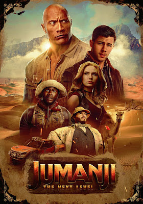 Jumanji The Next Level 2019 DVD HD Dual Latino 5.1 + Sub FORZADOS