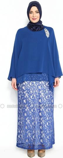 Kreasi Baju Batik Muslim Big Size