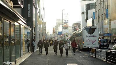 travelling harajuku tokyo japan