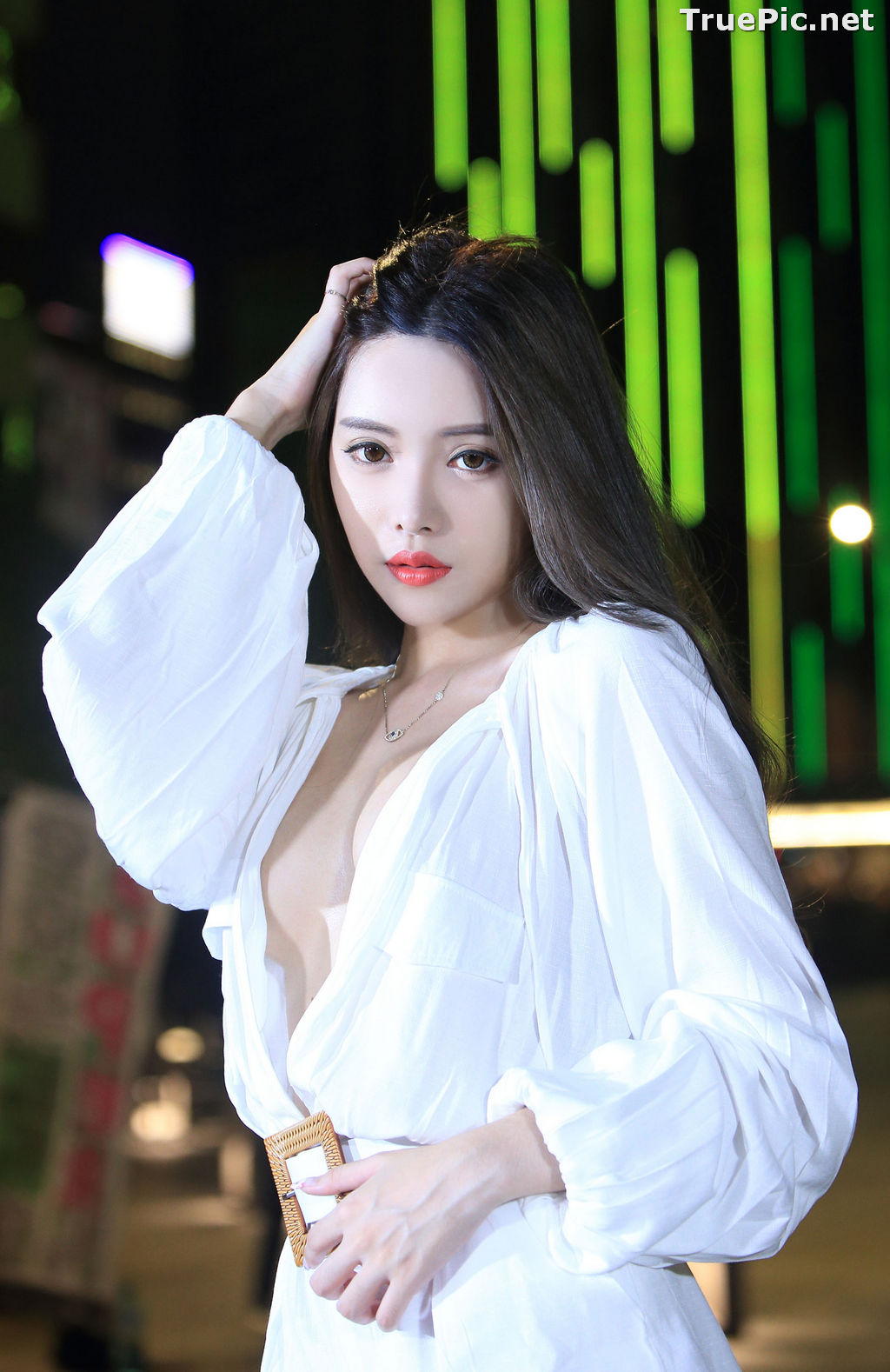 Image Taiwanese Model – 莊舒潔 (ViVi) – Sexy and Pure Baby In Night - TruePic.net - Picture-41