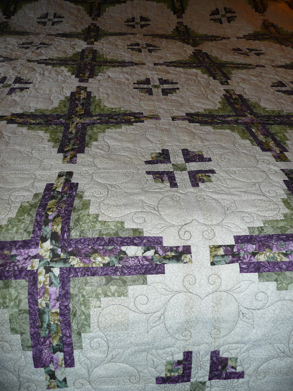 Acorn Ridge Quilting Sid S Flowers In The Cabin Quilt