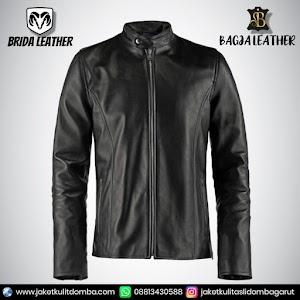 Jual Jaket Kulit Asli Garut Pria Domba Original Brida Leather B30   WA 08813430588