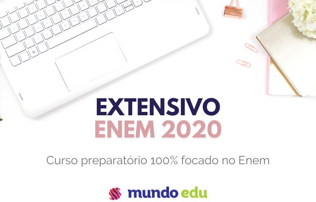 Curso Extensivo Regular Enem 2020 por apenas R$99