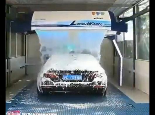ماكينات وآلات ذكية لغسيل السيارات بتكنولوجيا عالية