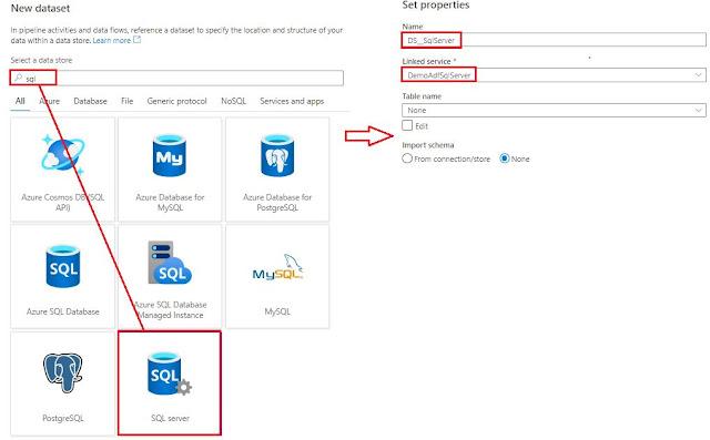 New SQL Dataset