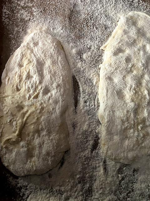 Ciabatta selbst gebacken