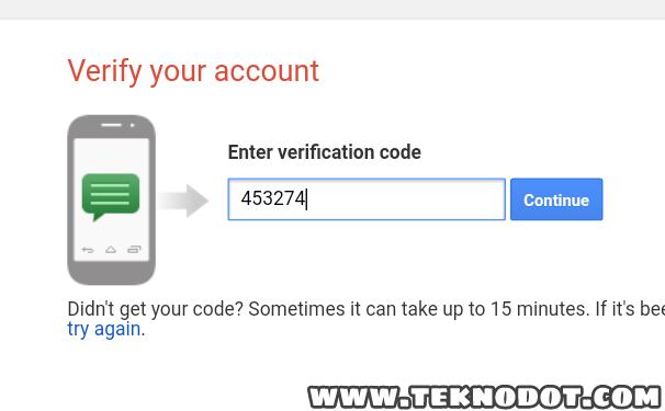 membuat akun email gmail baru lewat hp android