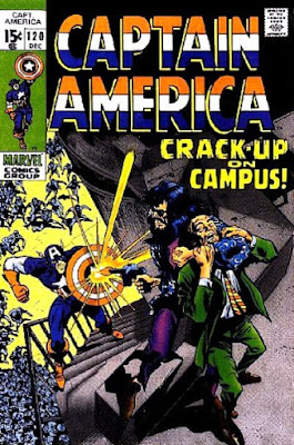 Captain America #120, Crack-Up on Campus