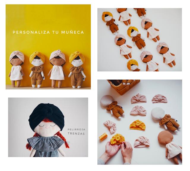 Muñecas personalizadas de Lelelerele