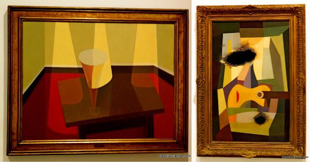 Obras de Emilio Petorruti e de Oscar Bony no Museu de Arte Moderna de Buenos Aires