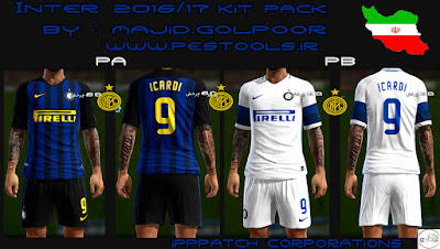 PES 2013 Inter 2016/17 Full Kitpack By Majid.glpr