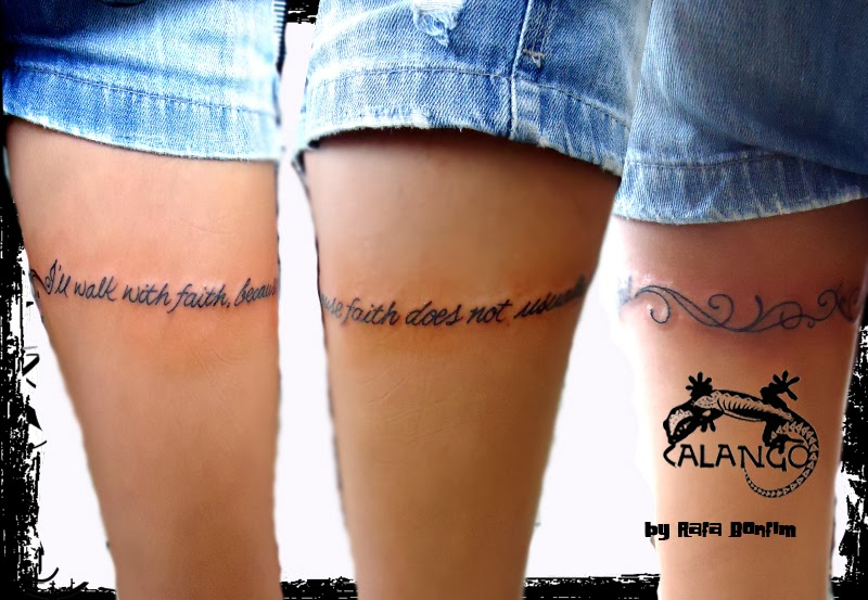 Calango Tattoo Studio Frase