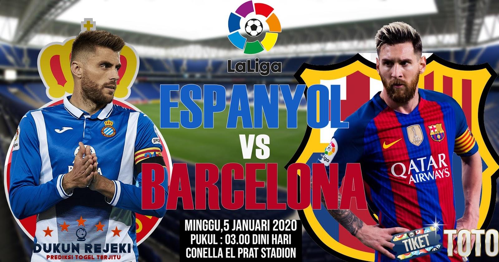 Prediksi Espanyol vs Barcelona 05 Januari 2020