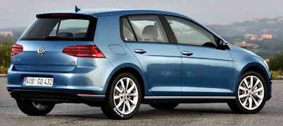 Volkswagen Golf TSI 2017 azul