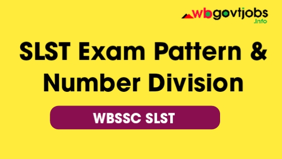 West Bengal SLST Exam Pattern 2020