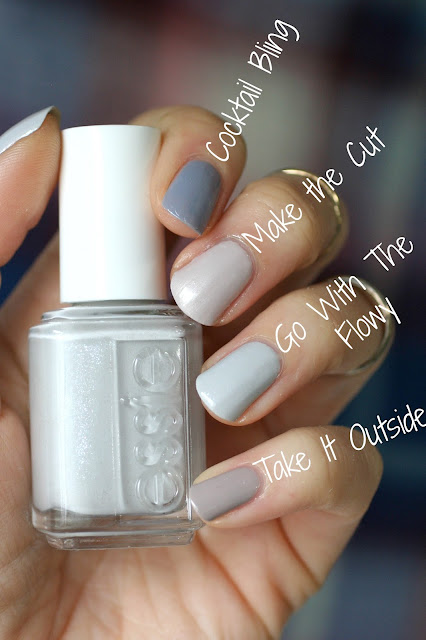 Essie Pale Pink Comparison Ballet Slippers Minimalistic: Essie Winter 2016 Getting Groovy Collection : Review