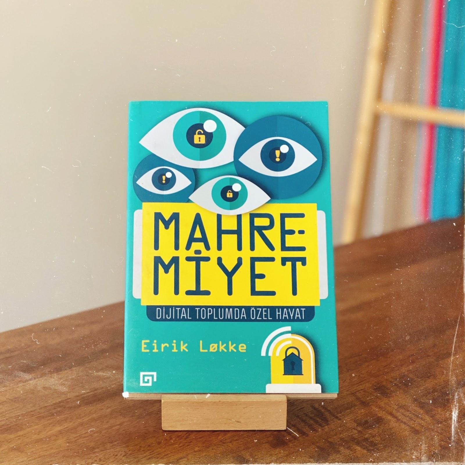 Mahremiyet - Dijital Toplumda Ozel Hayat (Kitap)