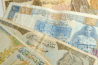 استمرار ارتفاع صرف الليره السوريه اليوم مقابل الدولار وسلة من العملات