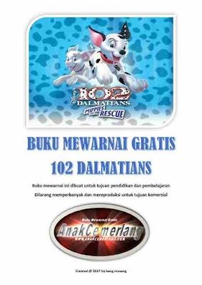 buku mewarnai pdf gratis 102 dalmatians