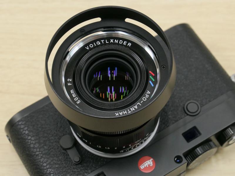 Voigtlander APO-LANTHAR 50mm f/2 Aspherical VM с камерой