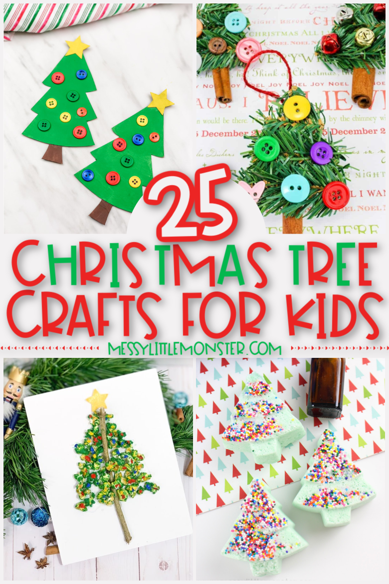 Fun and easy Christmas tree crafts for kids
