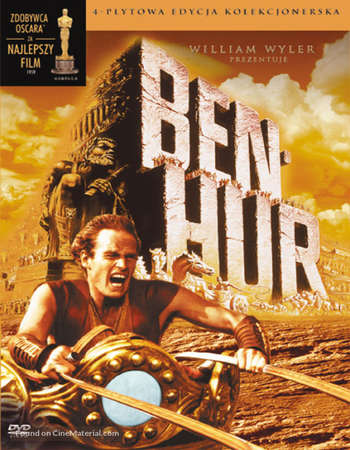 Poster Of Ben-Hur 1959 Dual Audio 650MB BRRip 480p Free Download Watch Online Worldfree4u