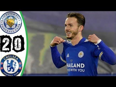 Hasil Liga Inggris Leicester City Vs Chelsea 2-0