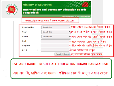 ssc result 2018, dakhil results 2018 by www.educationboardresults.gov.bd