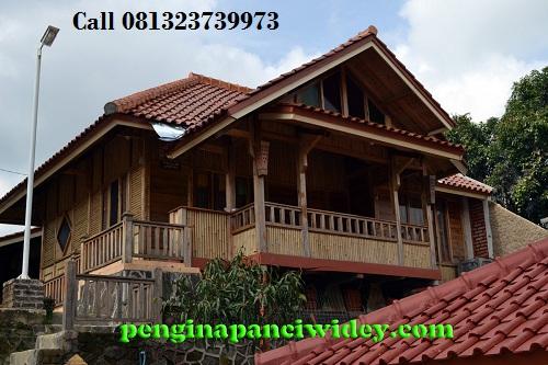 Booking villa di area wisata kawah putih dari sumedang