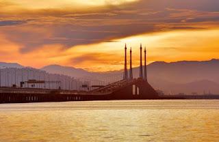Tempat Wisata di Penang : Penang Bridge