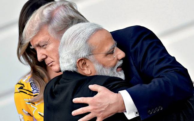 Image Attribute: United States President Donald Trump and Prime Minister Narendra Modi, White House, Washington, June 26. Photo: CARLOS BARRIA/REUTERS